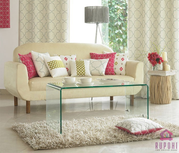 High-quality sofa cloth, pillow, and Window Curtains